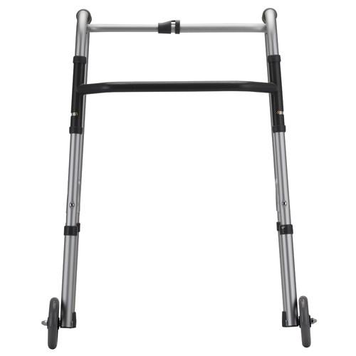 Nova Standard Folding Walker W 5 Quot Wheels Adult Mccann