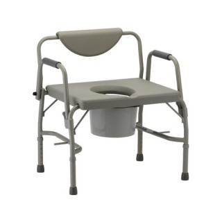 Nova Bariatric Drop-Arm Commode