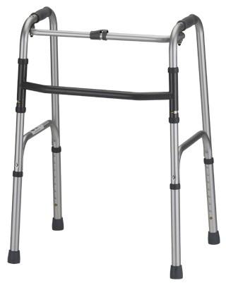 nova standard folding walker mccann s medical