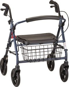 Nova Mini Mack Heavy Duty Rolling Walker - 2 Colors