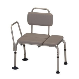 Nova Padded Transfer Bench with Detachable Back
