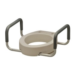 Nova Adjustable Raised Toilet Seat Mccann S Medical