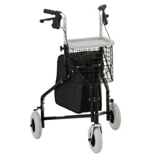Nova Traveler 3 Wheel Rolling Walker - 3 Colors