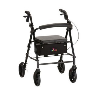 Nova Vibe 8 Rolling Walker - 5 Colors
