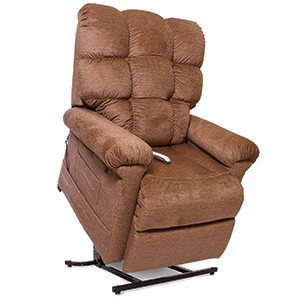 Pride Oasis Infinity Collection Lift Chair-Biscuit Back