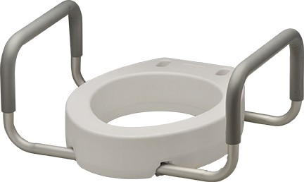 Nova Toilet Seat Riser With Arms Mccann S Medical