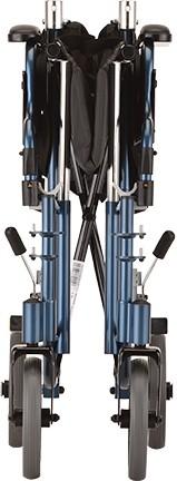 "Nova 19"" Lightweight Transport Chair with Detachable Armrests"