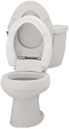Pleasant Nova Standard Hinged Toilet Seat Riser Mccanns Medical Pdpeps Interior Chair Design Pdpepsorg
