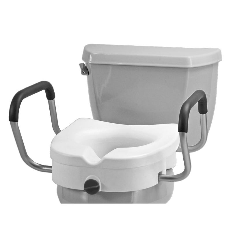Nova Raised Toilet Seat With Detachable Arms Mccann S