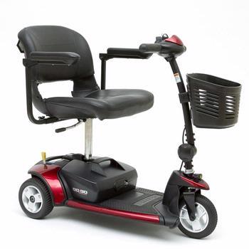 Pride Go-Go Elite Traveler - 3 Wheel Scooter
