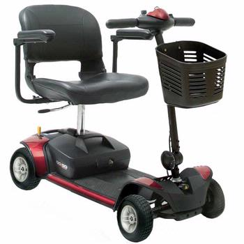 Pride Go-Go Elite Traveler - 4 Wheel Scooter