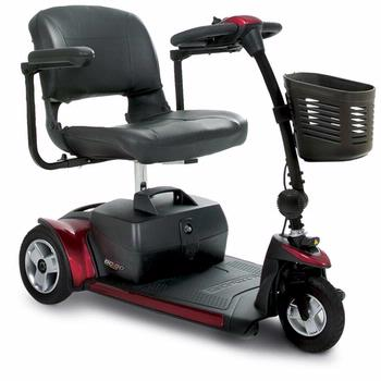 Pride Go-Go Elite Traveler Plus - 3 Wheel Scooter