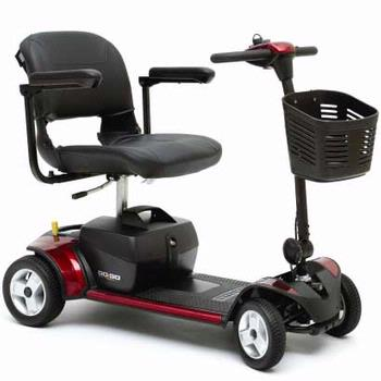 Pride Go-Go Elite Traveler Plus - 4 Wheel Scooter