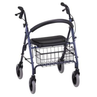 Nova Mack Heavy Duty Rolling Walker - 2 Colors