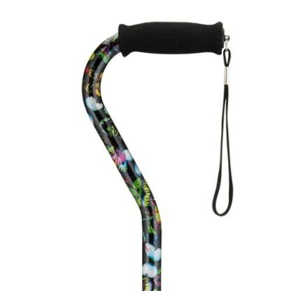 Nova Cane Offset with Strap - 2 Colors