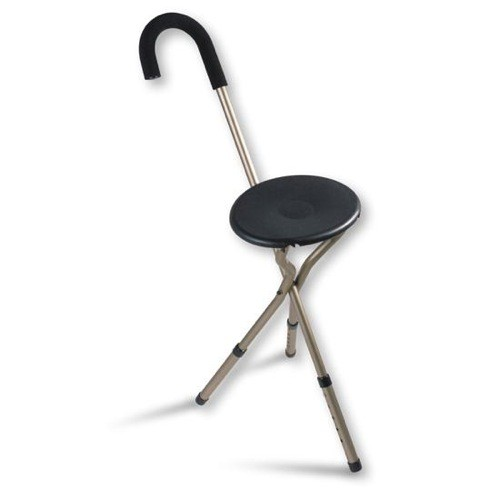 Nova Folding Seat Cane - Adjustable