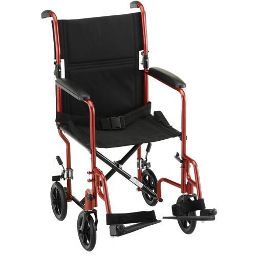 "Nova 19"" Steel Transport Chair"