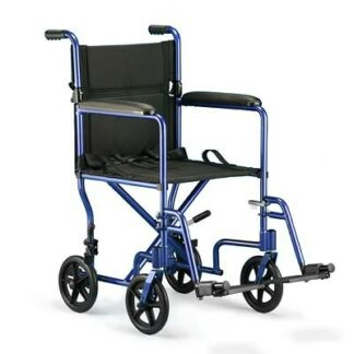 """Invacare 19"""" Aluminum Transport Chair"""