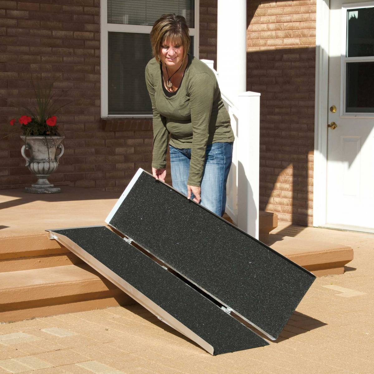 Buy portable ramps from McCann's Medical